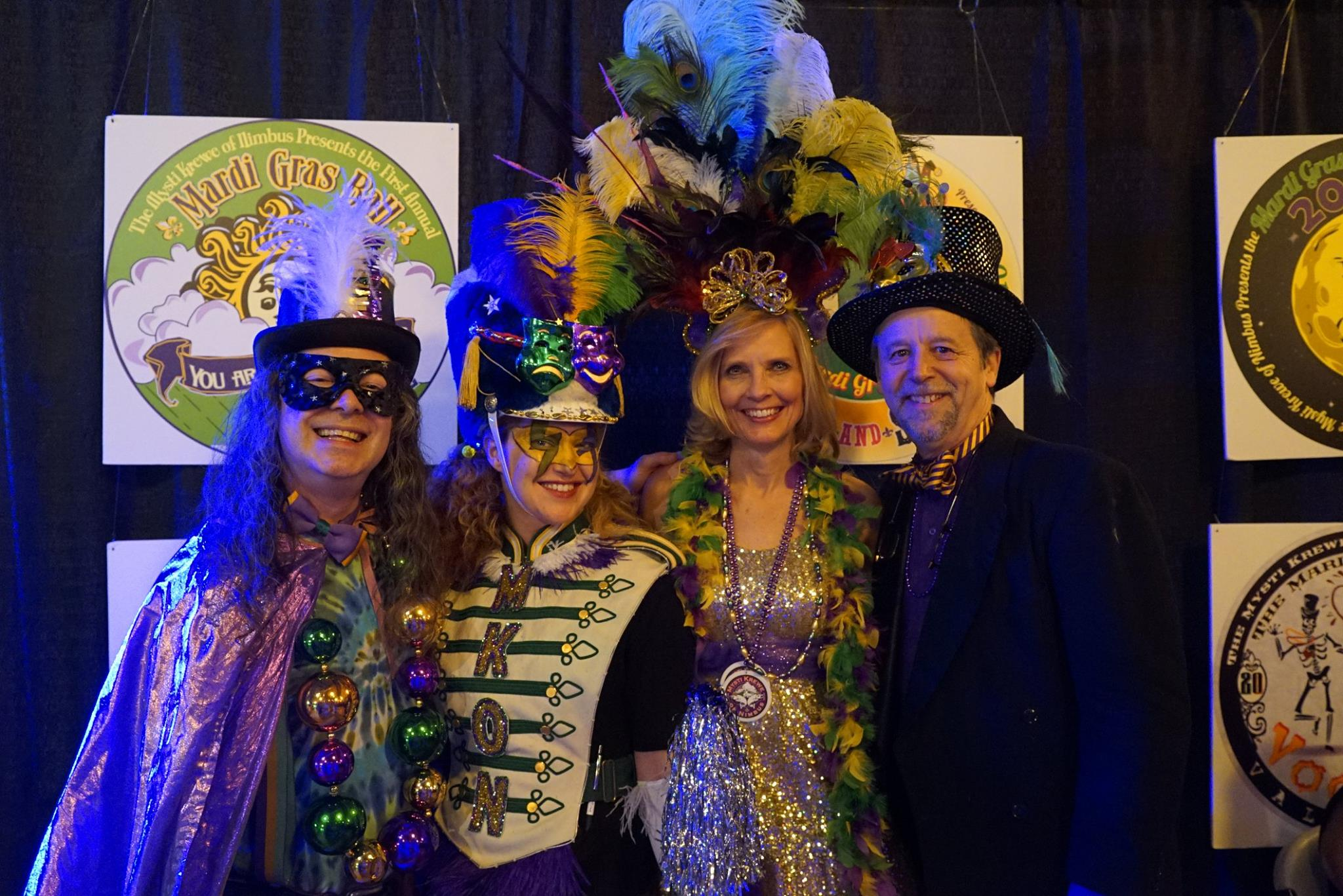 Captains, Krewe and past logos