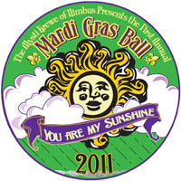 """You Are My Sunshine"" 2011 Mardi Gras Ball theme"
