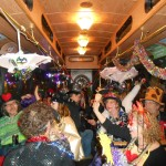 Trolley dance party