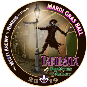 The 2019 Theme: Tableaux on Pirates Alley
